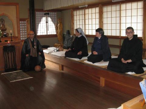 monaci ristiani zen