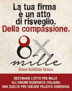 8x1000 Unione Buddhista Italiana